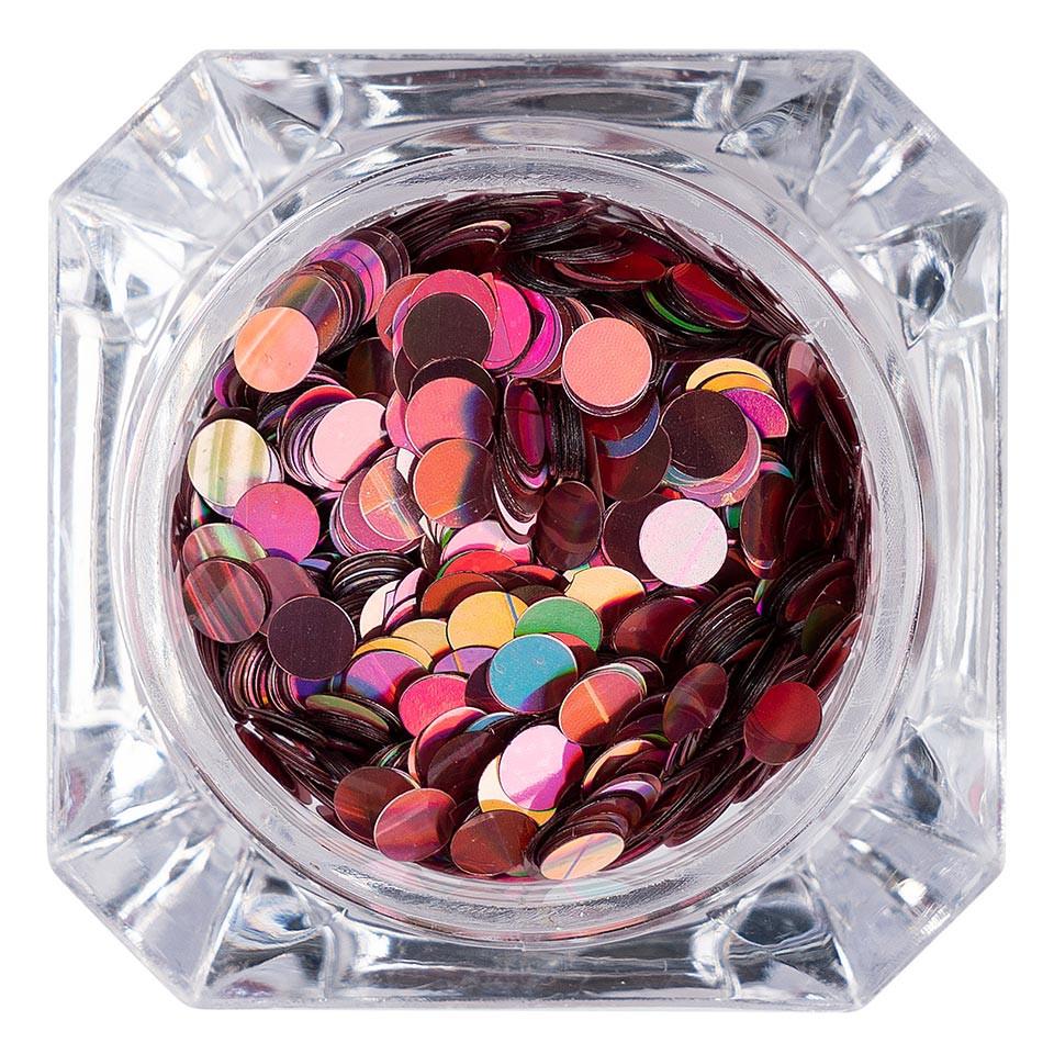 Confetti Unghii LUXORISE Colorful Spots #012 imagine 2021 kitunghii