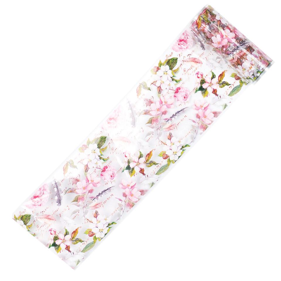 Folie de Transfer Unghii LUXORISE #367 Flower Mania kitunghii.ro