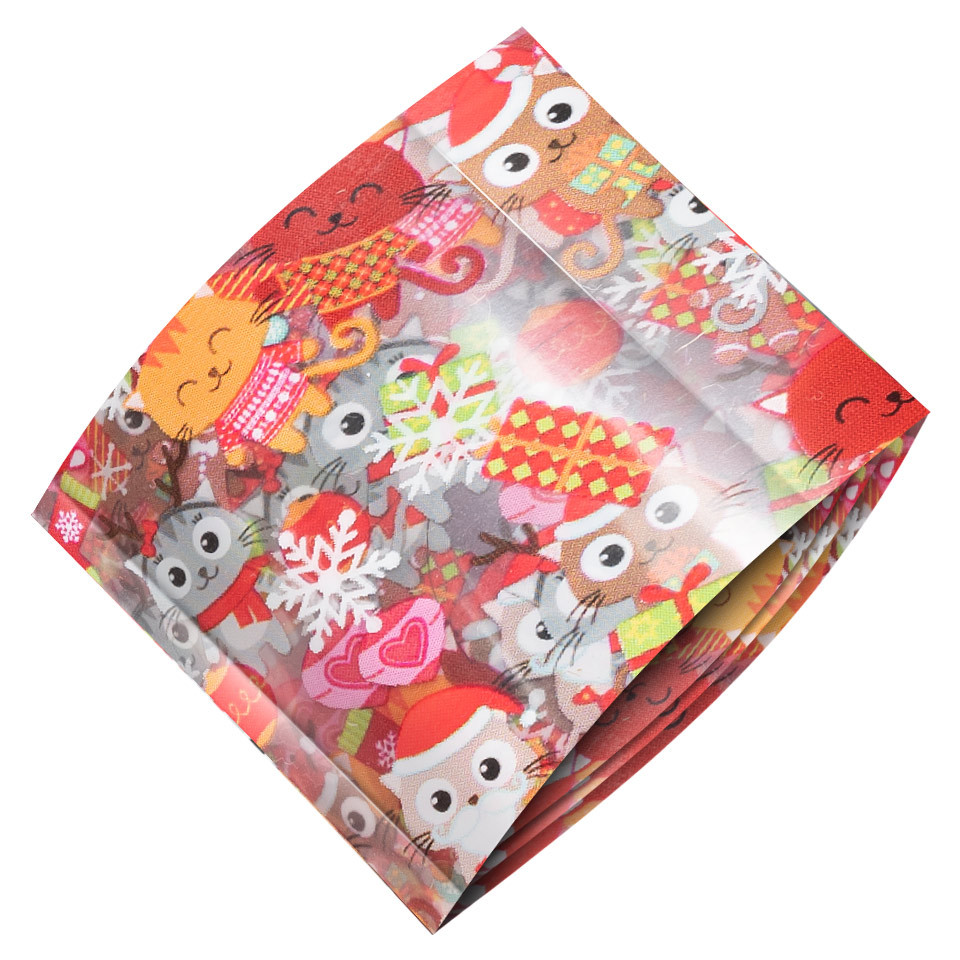 Folie de Transfer Unghii LUXORISE #432 Christmassy kitunghii.ro
