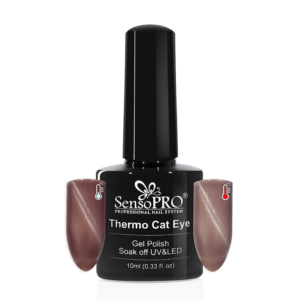 Oja Semipermanenta Thermo Cat Eye SensoPRO 10 ml, #11 imagine 2021 kitunghii