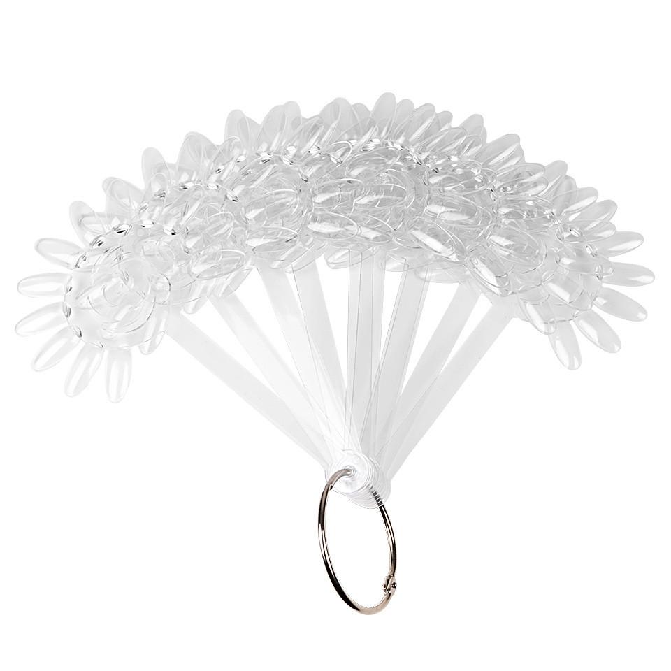 Paletar unghii Margareta 120 tipsuri exersare si expunere, Transparent imagine 2021 kitunghii