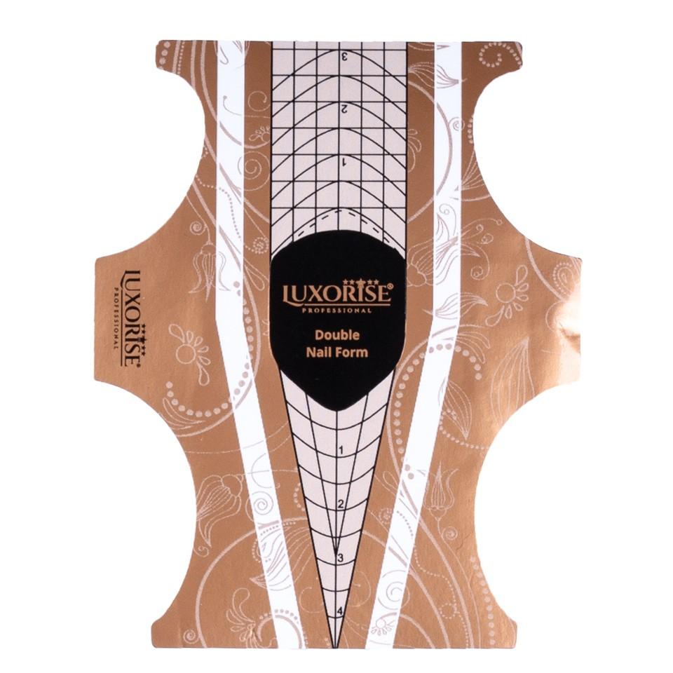 Sabloane Constructie Unghii LUXORISE Clasic Stiletto, 50 buc imagine 2021 kitunghii