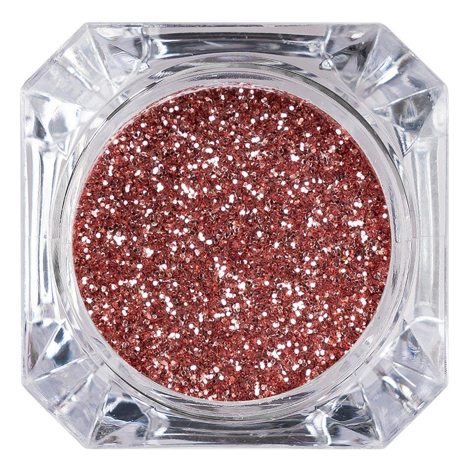 Sclipici Glitter Unghii Pulbere LUXORISE, Rose Wine #39 poza