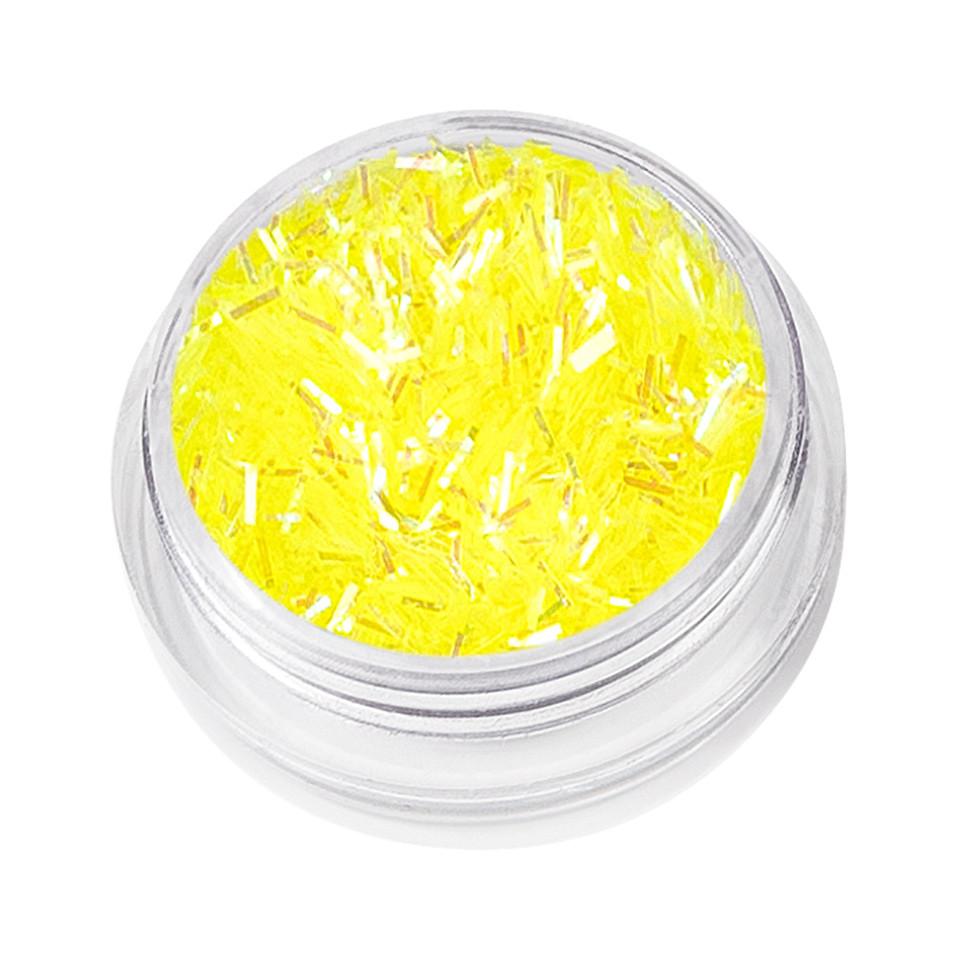 Sclipici Unghii Glitter Dance, Yellow
