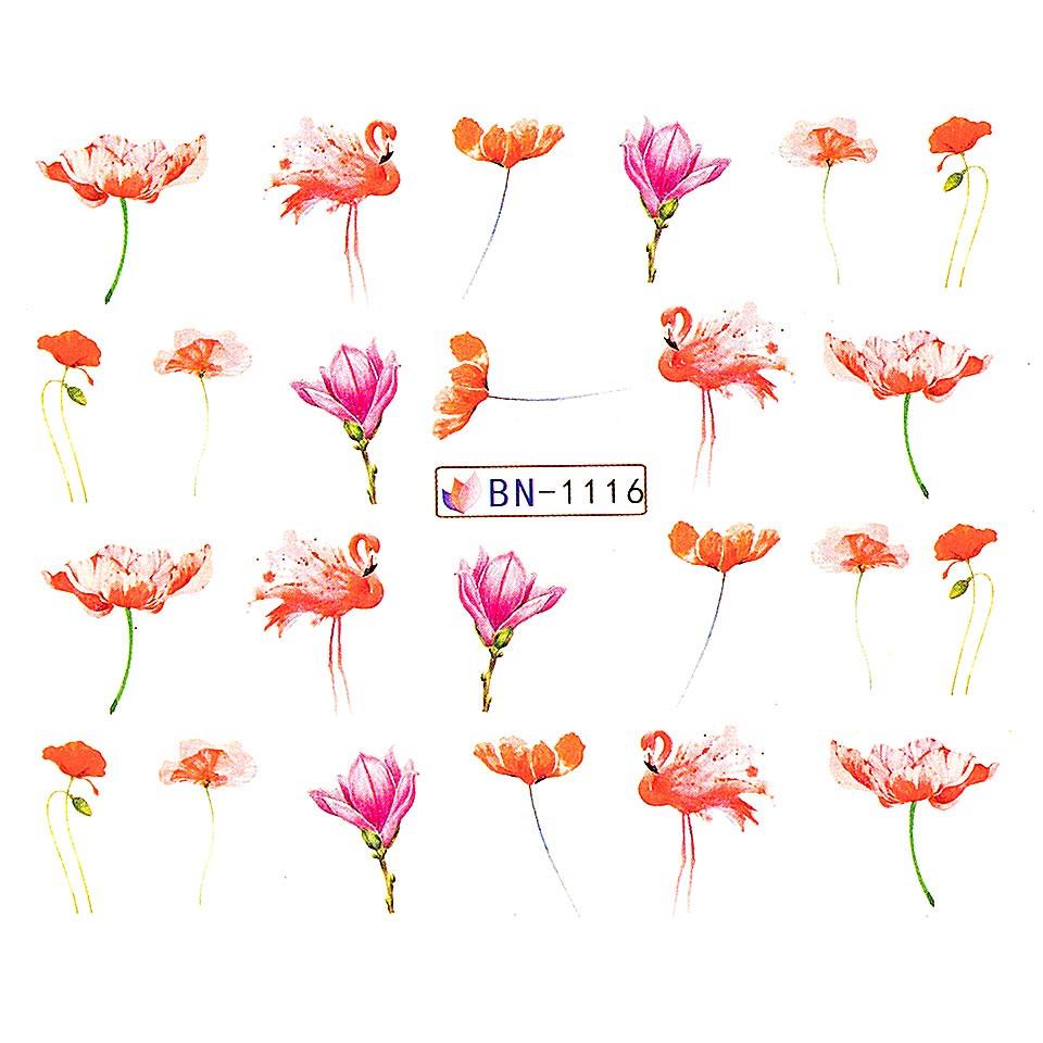 Tatuaj unghii LUXORISE, Flamingo BN-1116 kitunghii.ro