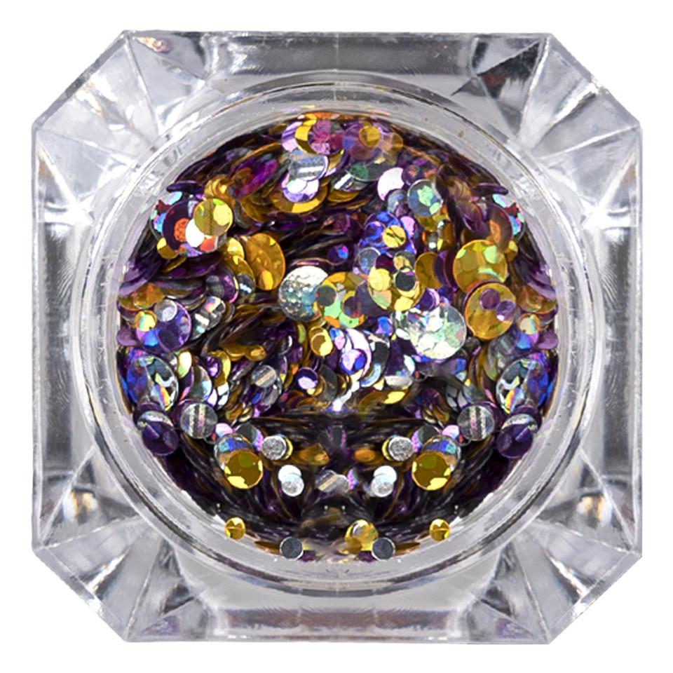 Confetti Unghii 026 Metallic Glam - LUXORISE imagine 2021 kitunghii
