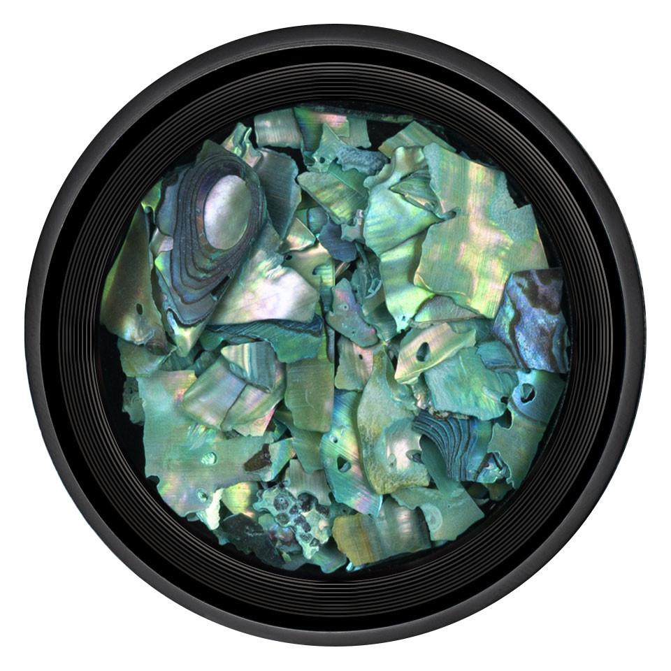 Decor Unghii tip Scoica Pisata LUXORISE - Smarald imagine 2021 kitunghii