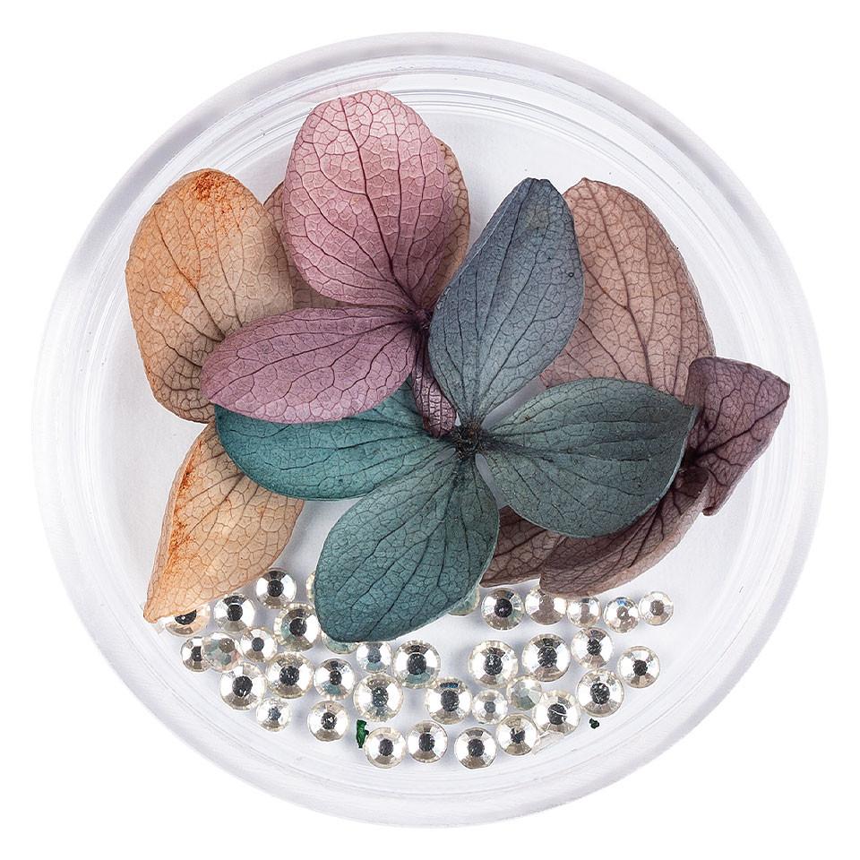 Flori Uscate Unghii LUXORISE cu cristale - Floral Fairytale #04 imagine 2021 kitunghii