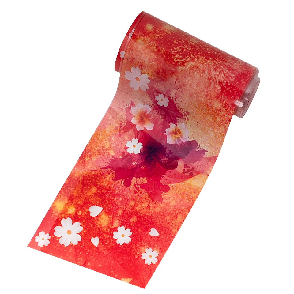 Folie de Transfer Unghii LUXORISE #12-1 Flower Mania kitunghii.ro