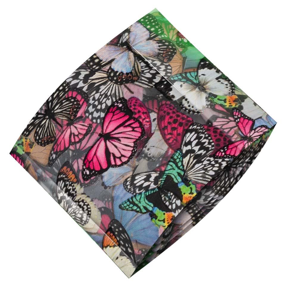 Folie de Transfer Unghii LUXORISE #419 Butterfly imagine 2021 kitunghii