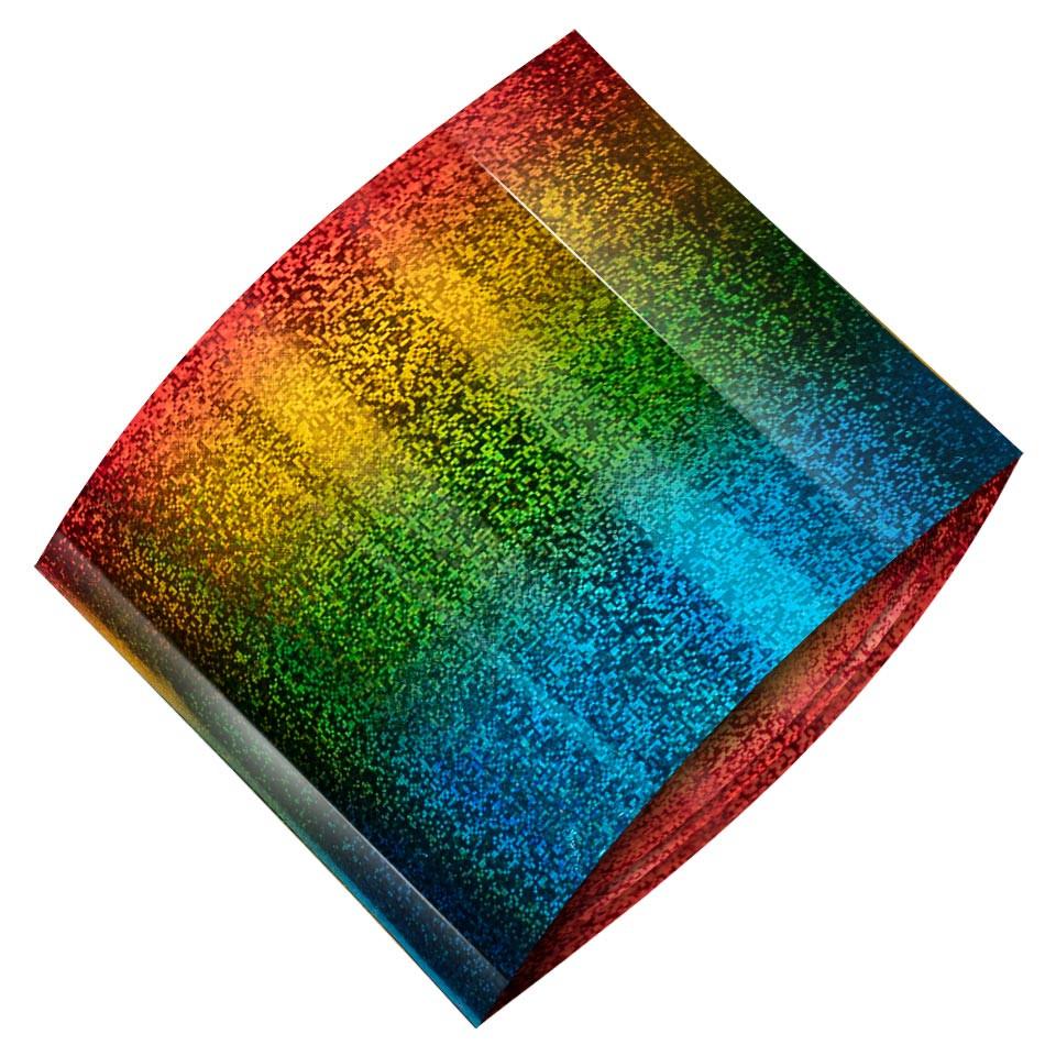 Folie de Transfer Unghii LUXORISE #482 Rainbow kitunghii.ro