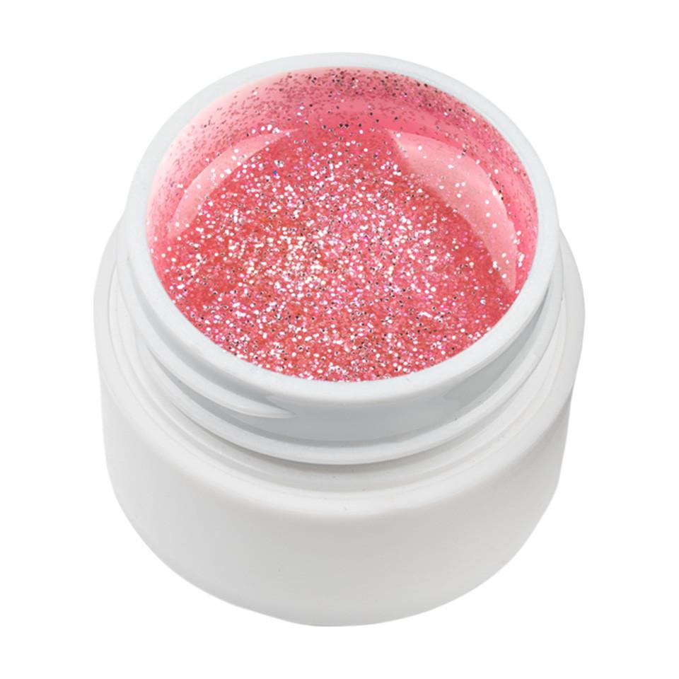 Gel UV Color cu Sclipici ENS PRO #023 - Pink Agenda imagine 2021