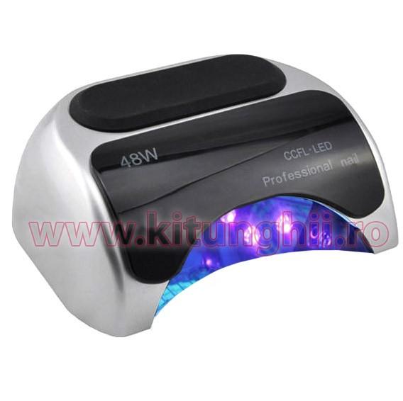 Pro PrezentaSilver Lampa De Timer CcflLed 48w Senzor Cu Si Profesionala 6bfvgy7Y