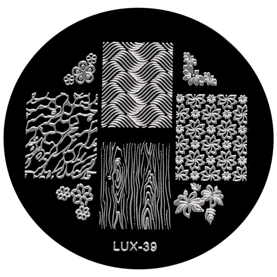 Matrita Metalica Stampila Unghii LUX-39 - Nature imagine 2021 kitunghii