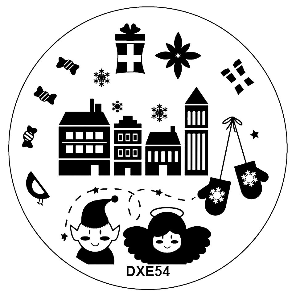 Matrita Unghii DXE54 Orasul Elfilor kitunghii.ro