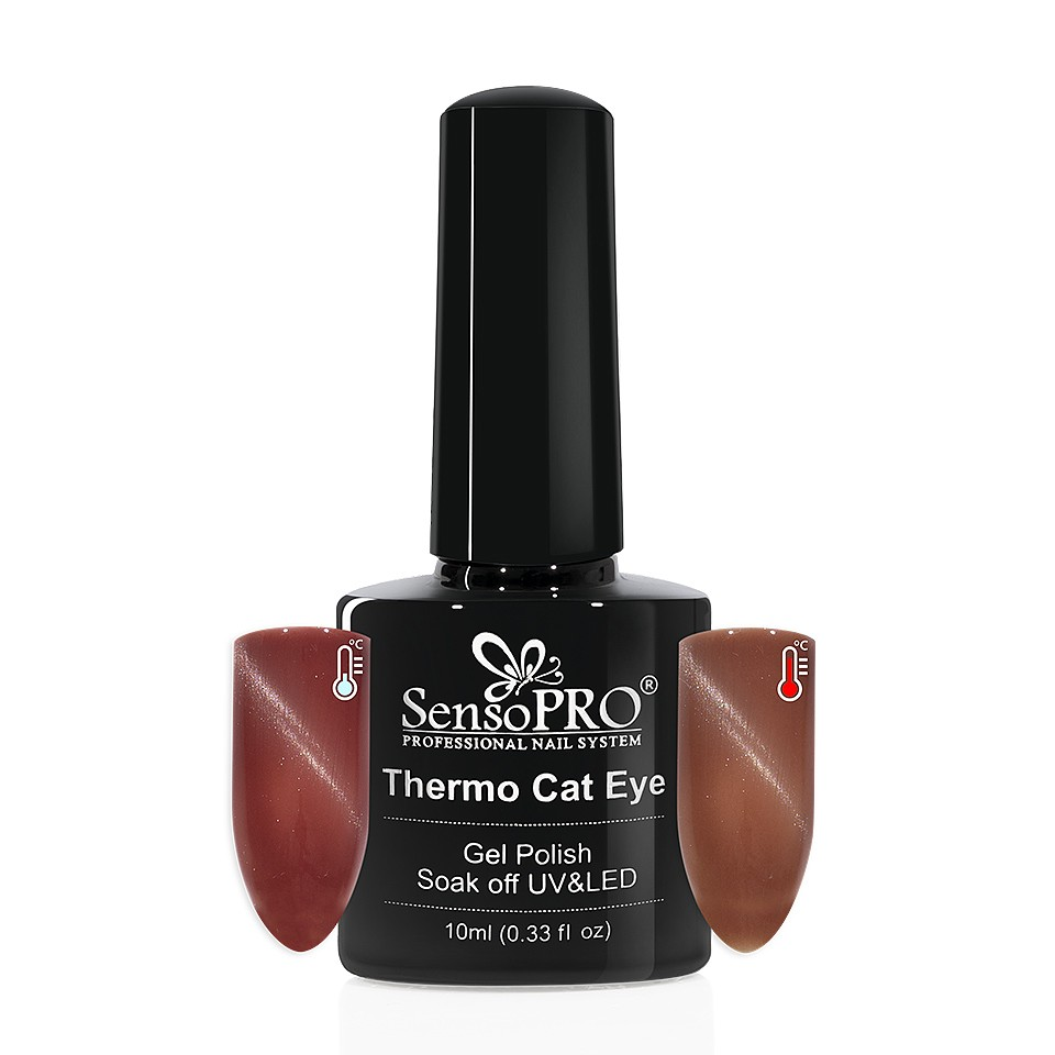 Oja Semipermanenta Thermo Cat Eye SensoPRO 10 ml, #10 imagine 2021 kitunghii