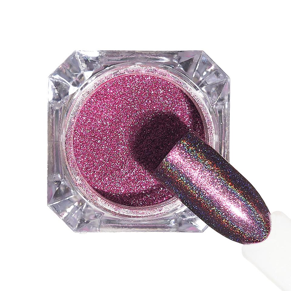 Pigment unghii Holografic #152 cu aplicator - LUXORISE imagine 2021 kitunghii