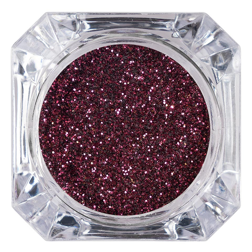 Sclipici Glitter Unghii Pulbere LUXORISE, Dark Cherry #25 imagine 2021 kitunghii