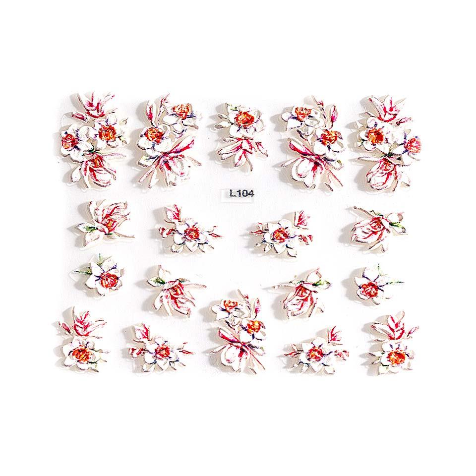 Sticker 3D Unghii LUXORISE Artistry L104 kitunghii.ro