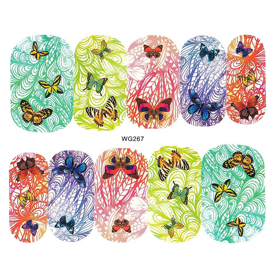 Tatuaj unghii LUXORISE, Butterfly WG267 kitunghii.ro