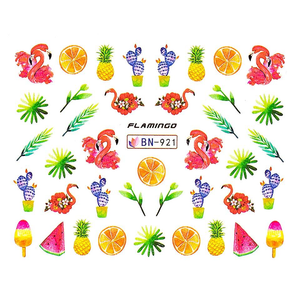 Tatuaj unghii LUXORISE, Flamingo BN-921 kitunghii.ro