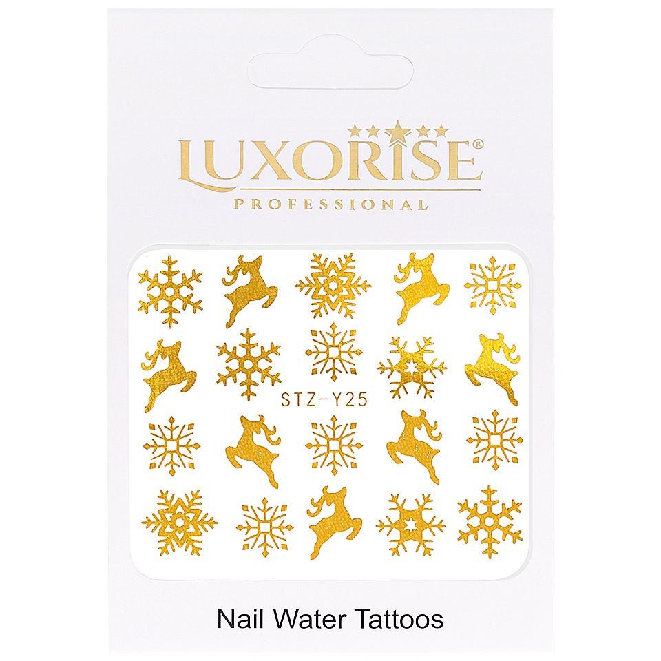 Tatuaj unghii LUXORISE, Winter STZ-Y25 imagine produs