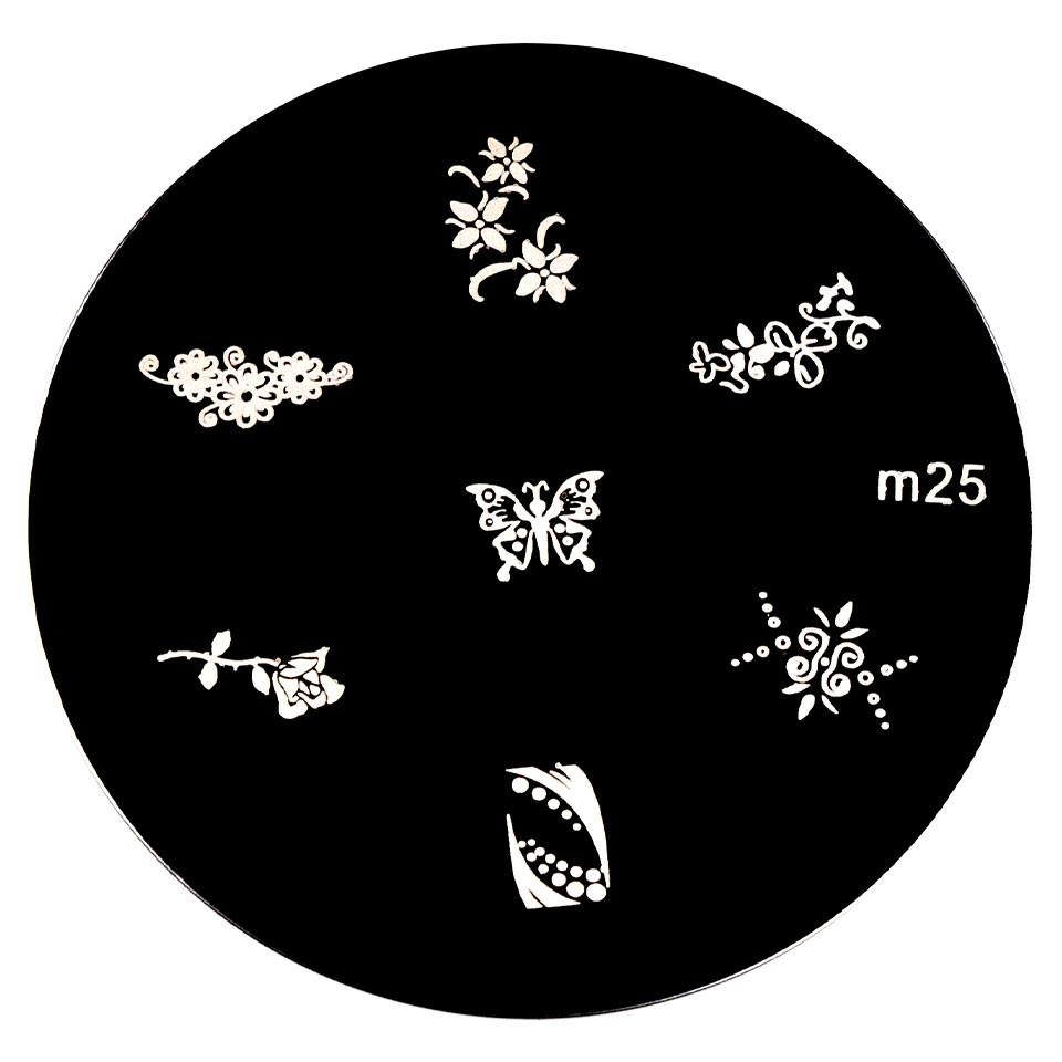 Matrita Metalica Stampila Unghii M25 - Nature imagine 2021 kitunghii