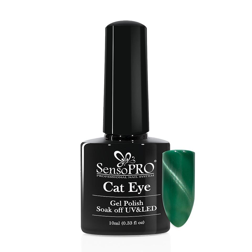 Oja Semipermanenta Cat Eye SensoPRO 10ml - #016 OceanBrize poza noua