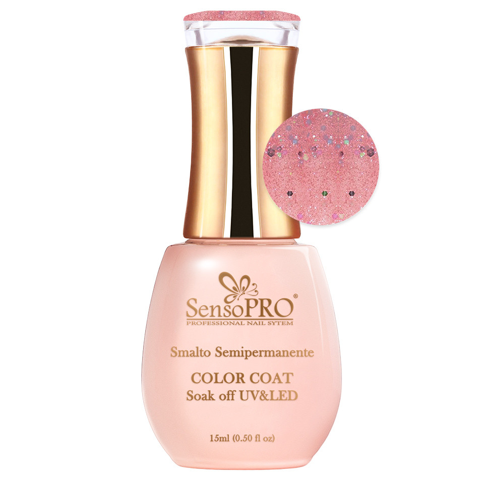 Oja Semipermanenta SensoPRO 15ml - #037 Pink Queen imagine 2021 kitunghii