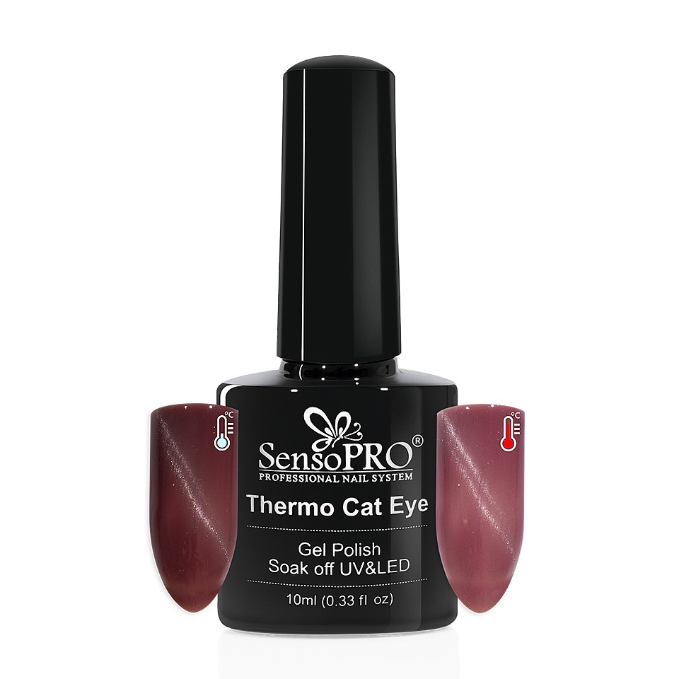 Oja Semipermanenta Thermo Cat Eye SensoPRO 10 ml, #07 imagine 2021 kitunghii