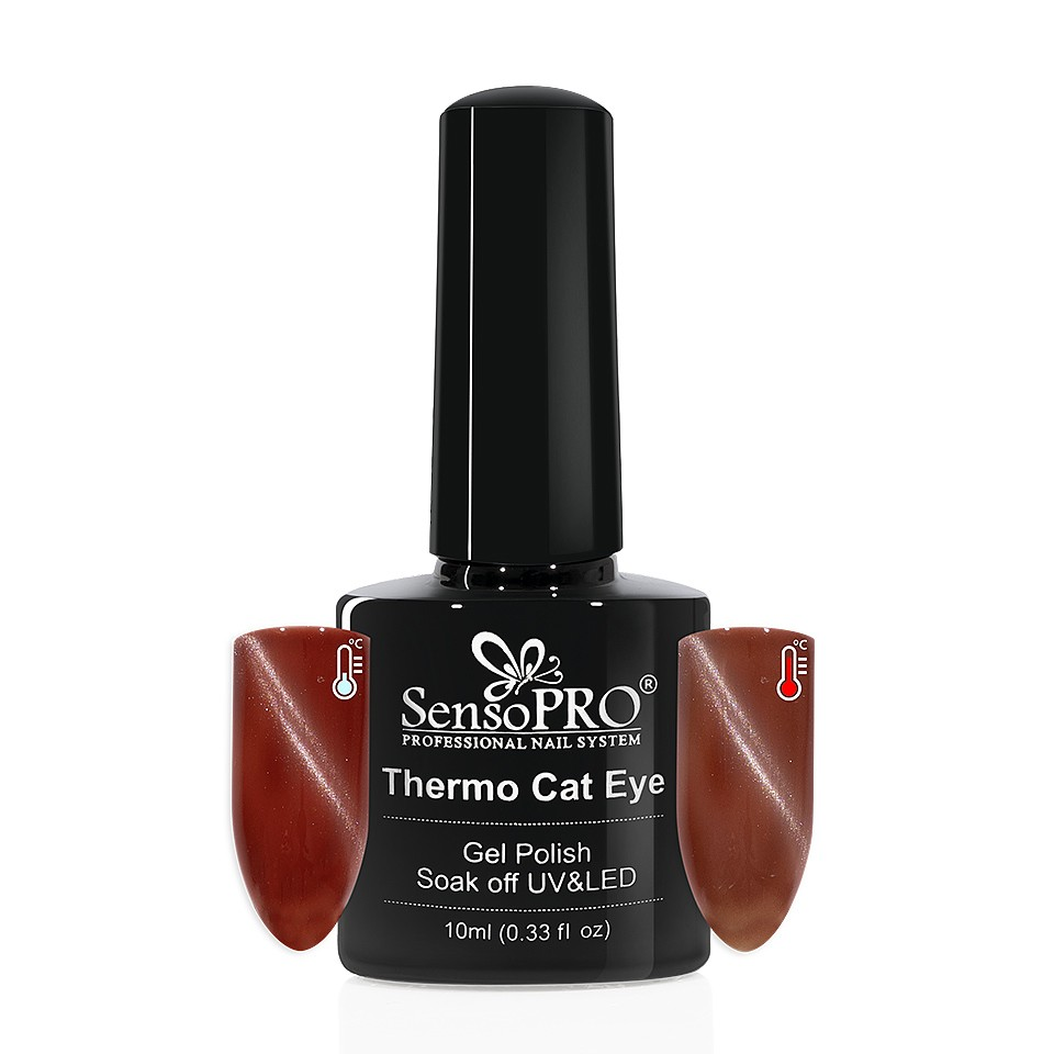 Oja Semipermanenta Thermo Cat Eye SensoPRO 10 ml, #32 imagine 2021 kitunghii