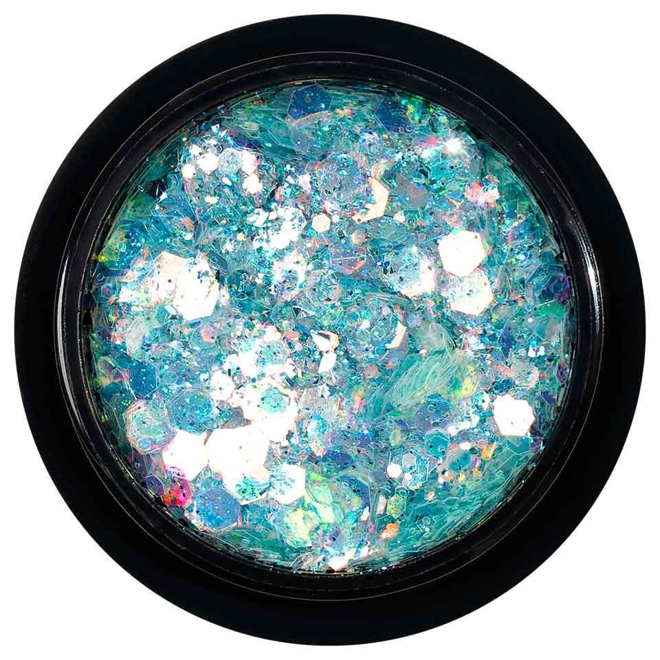 Paiete Holografice Unghii LUXORISE Disco Lights YJ08 poza noua
