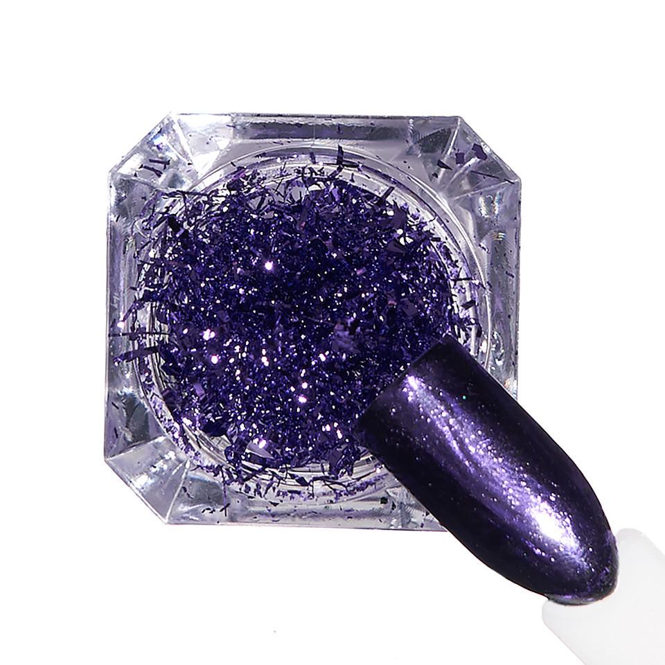 Pigment unghii Ice Effect #09 cu aplicator - LUXORISE imagine 2021 kitunghii