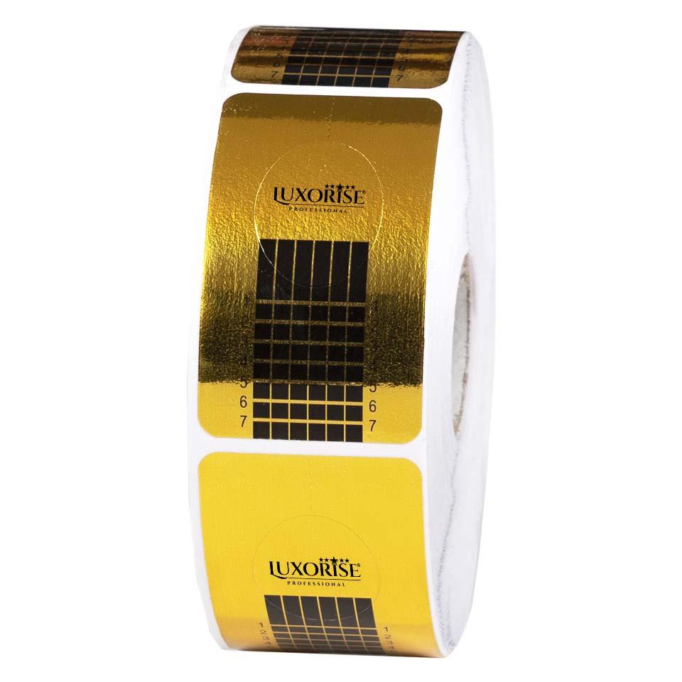 Sabloane Constructie Unghii Gel LUXORISE - Rola 500 buc imagine produs