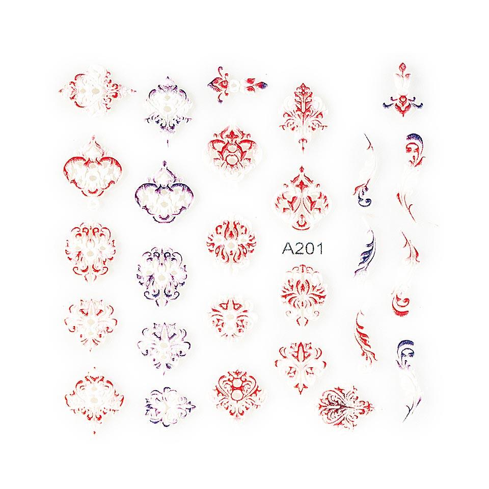 Sticker 3D Unghii LUXORISE Artistry A201 kitunghii.ro