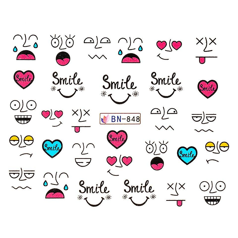 Tatuaj unghii LUXORISE, Emotions BN-848 kitunghii.ro