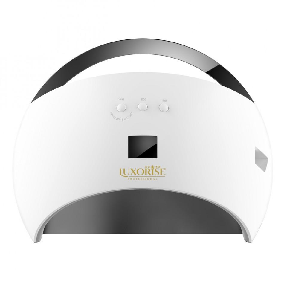 Lampa Uv Led Hybrid 48w Luxorise Germania, Display Digital Sun6, Double Light Led, Culoare Alb - Uscare Rapida