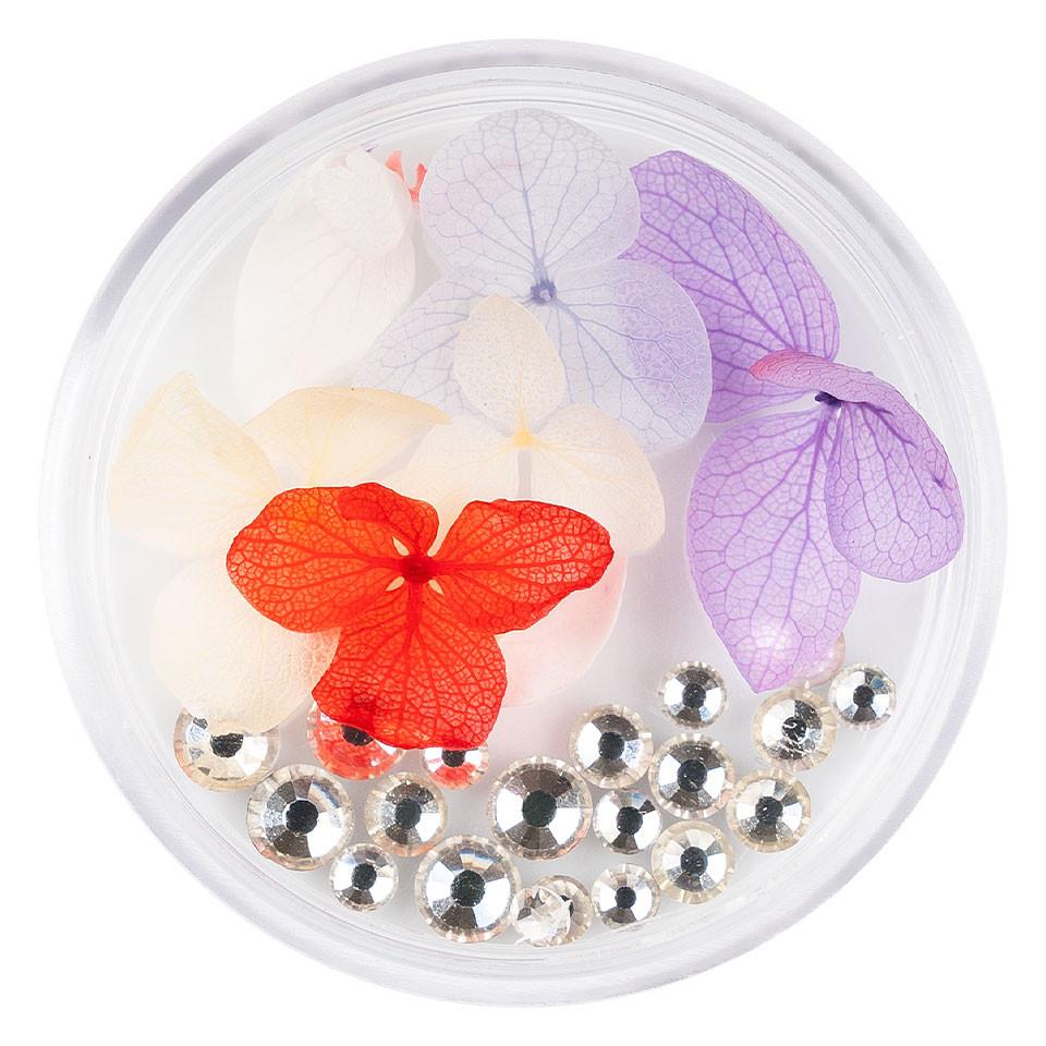 Flori Uscate Unghii LUXORISE cu cristale - Floral Fairytale #10 imagine 2021 kitunghii