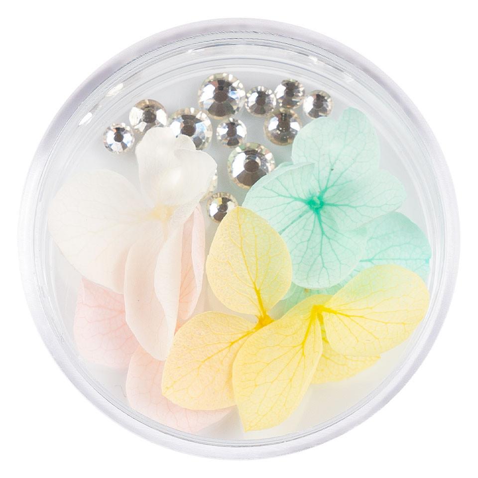 Flori Uscate Unghii LUXORISE cu cristale - Floral Fairytale #24 imagine 2021 kitunghii