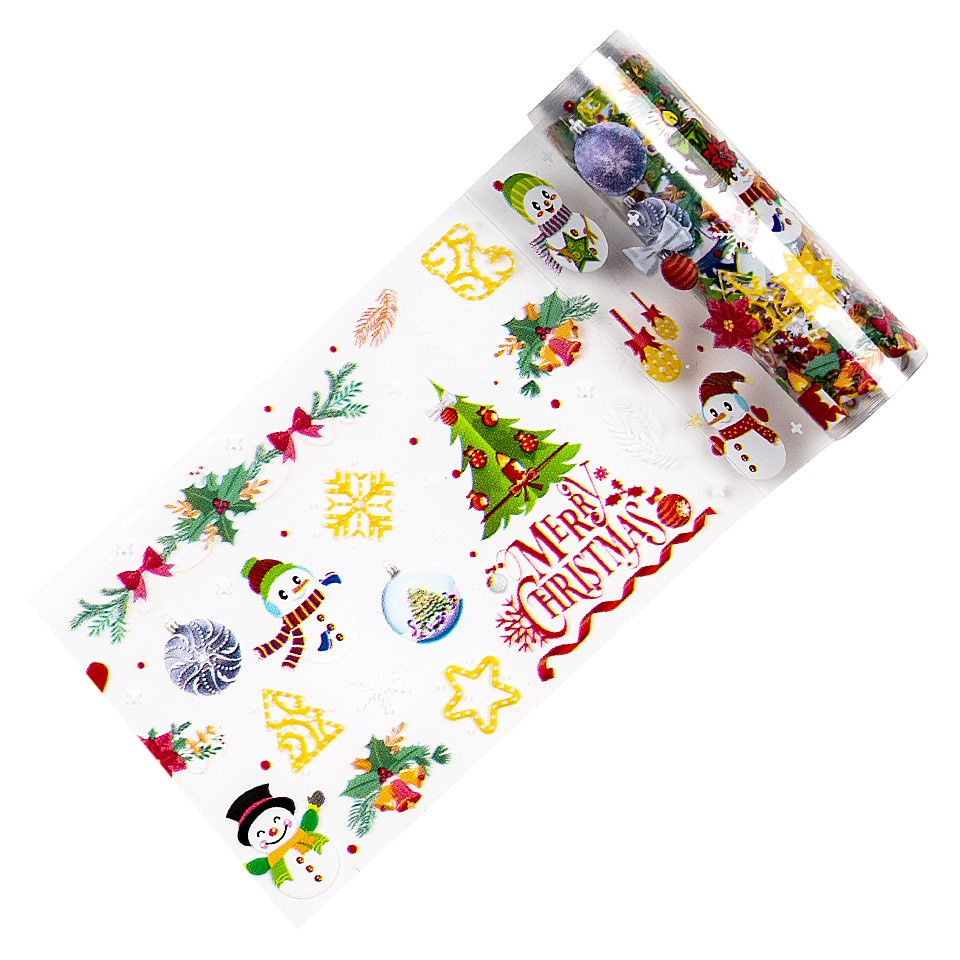 Folie de Transfer Unghii LUXORISE #338 Christmas Vibes kitunghii.ro