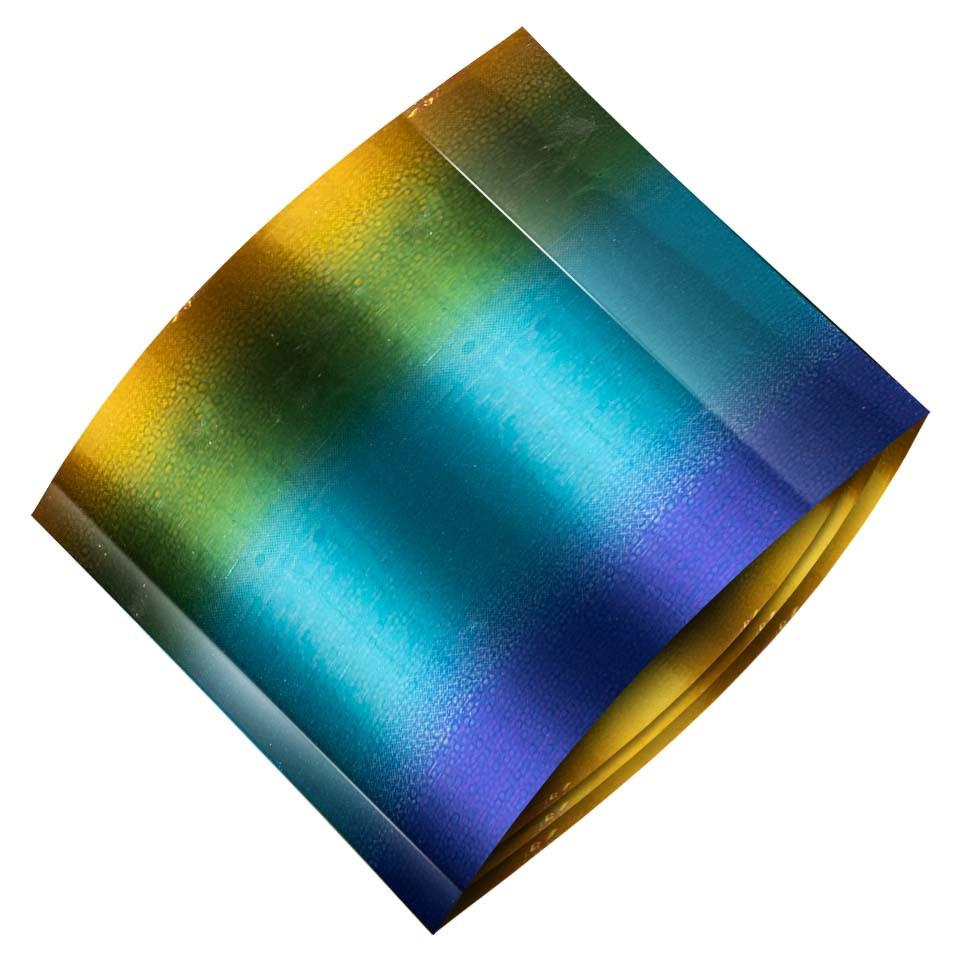 Folie de Transfer Unghii LUXORISE #377 Rainbow imagine 2021 kitunghii
