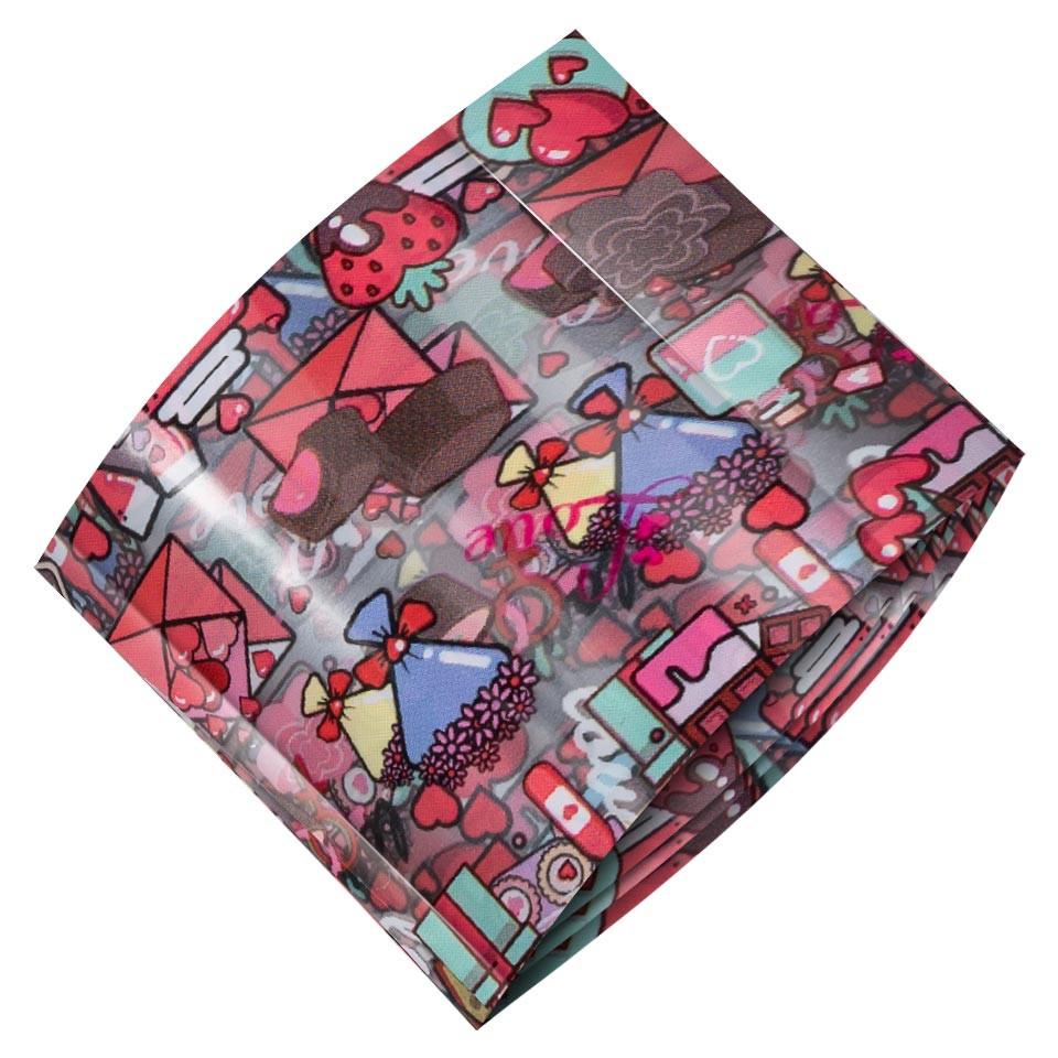Folie de Transfer Unghii LUXORISE #468 Sweet Love kitunghii.ro