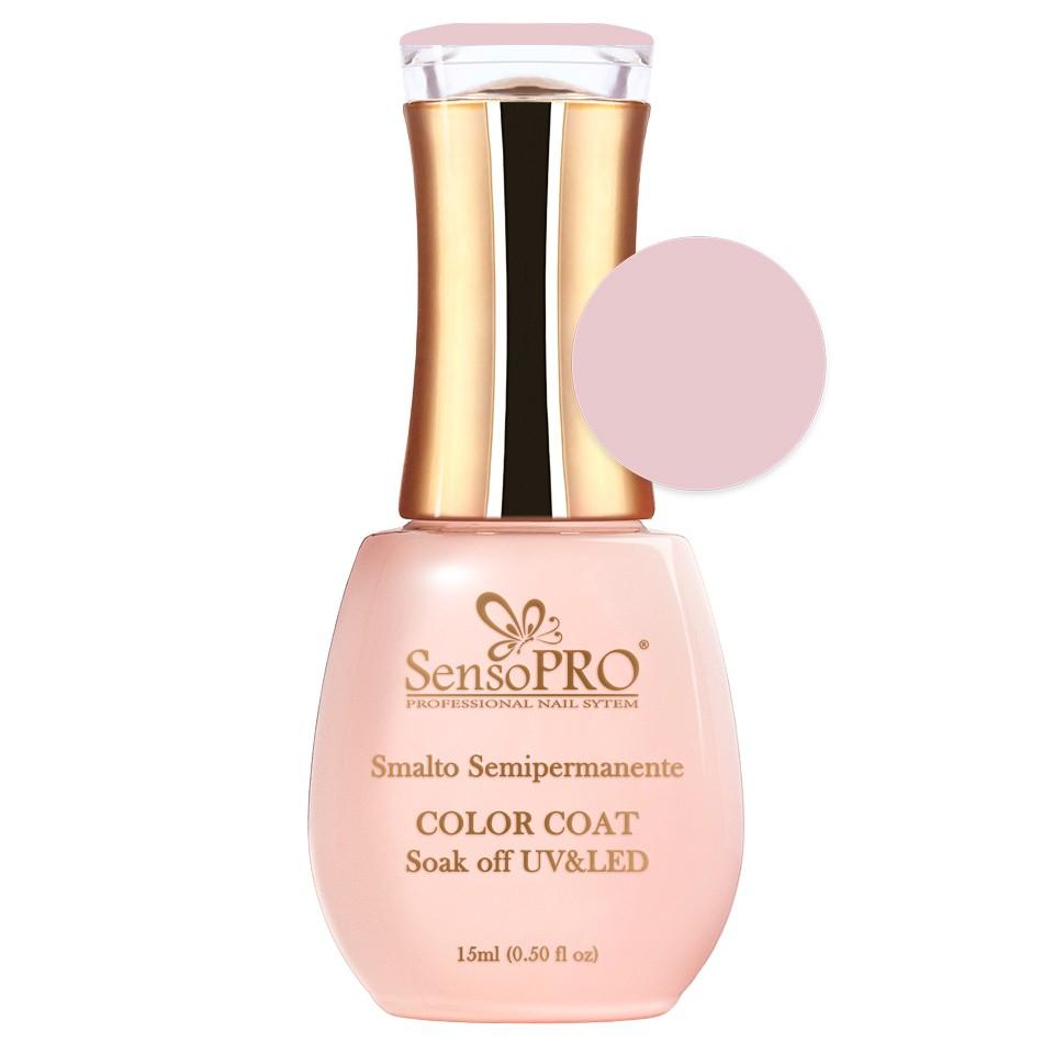 Oja Semipermanenta SensoPRO 15ml culoare Roz pal - 007 Nude Vanilla imagine produs