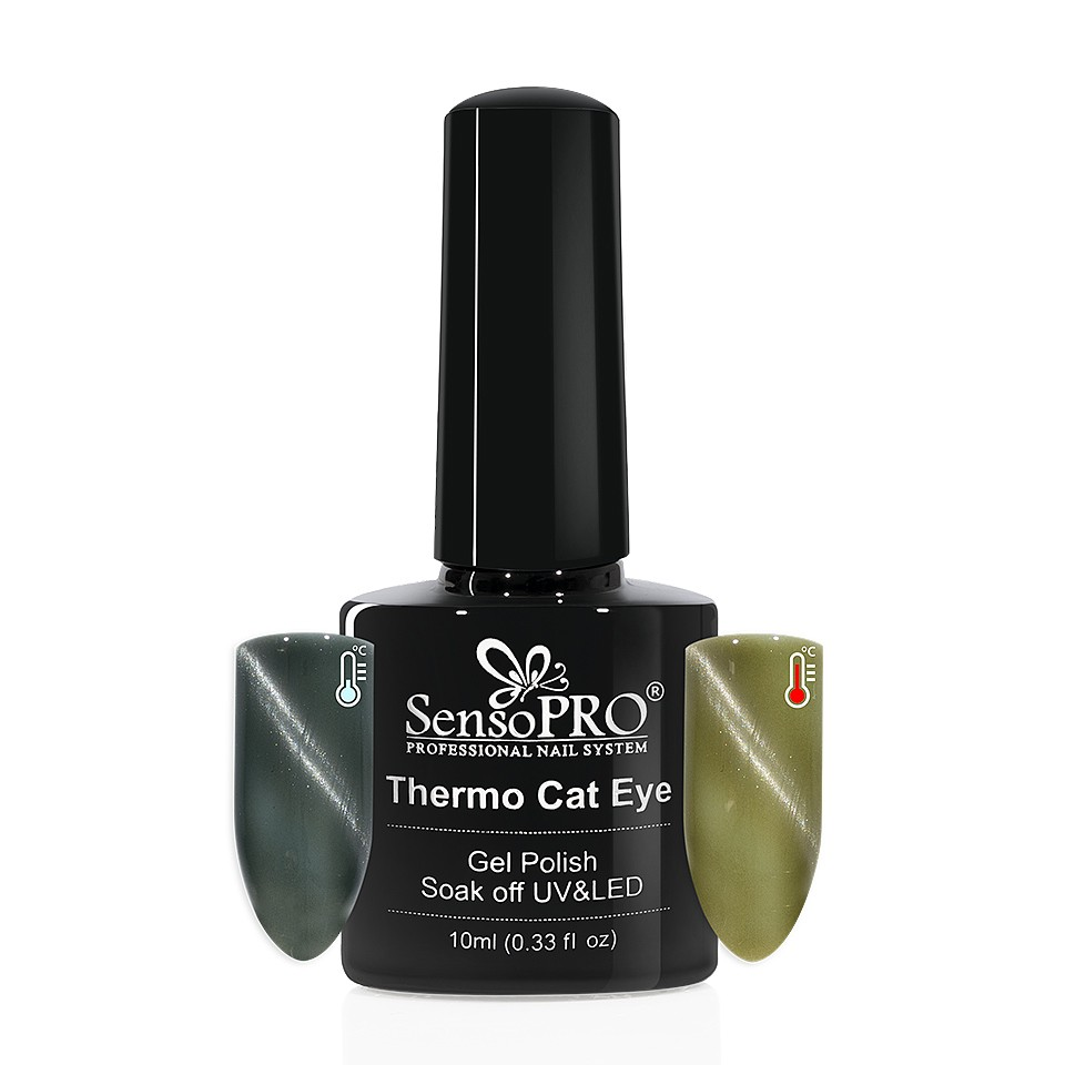 Oja Semipermanenta Thermo Cat Eye SensoPRO 10 ml, #06 imagine 2021 kitunghii