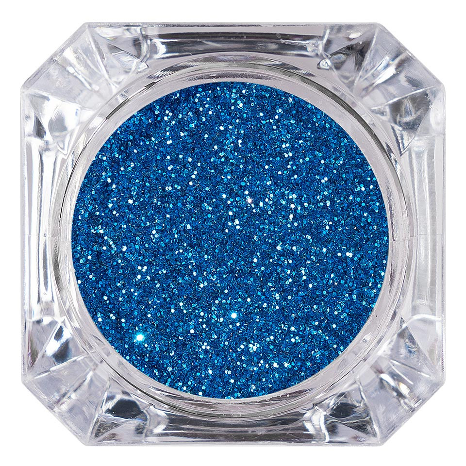 Sclipici Glitter Unghii Pulbere LUXORISE, Albastru #14 imagine 2021 kitunghii