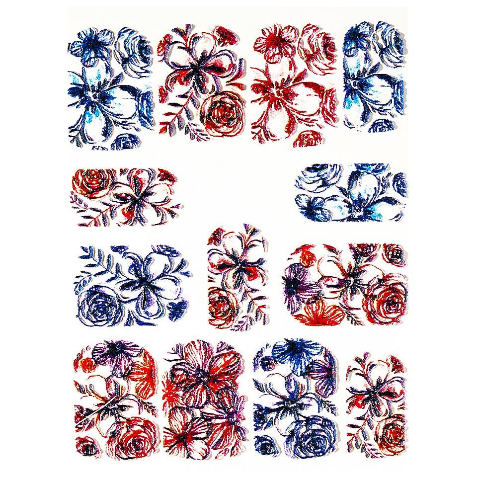 Tatuaj 3D Unghii LUXORISE 1009-34 kitunghii.ro