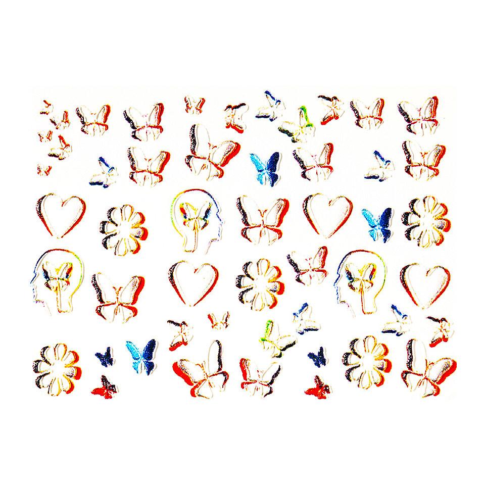 Tatuaj 3D Unghii LUXORISE 1107-55 kitunghii.ro