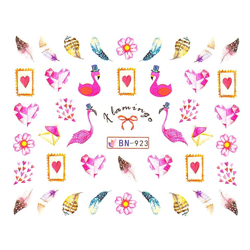 Tatuaj unghii LUXORISE, Flamingo BN-923 kitunghii.ro