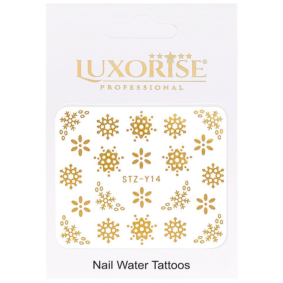 Tatuaj unghii LUXORISE, Winter STZ-Y14 imagine produs