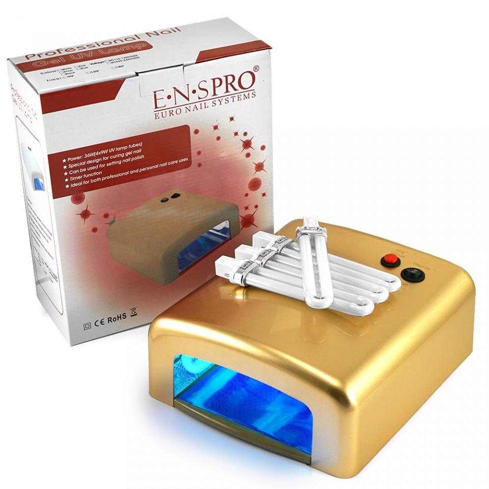 Lampa Uv 36w Ens Pro Cu 4 Neoane Si Timer - Golden Beauty